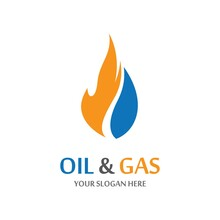 Oil And Gas Vector Icon
