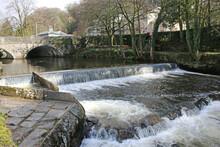 River Tavy In Tavistock, Devon