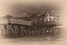 Fire Damaged Pier