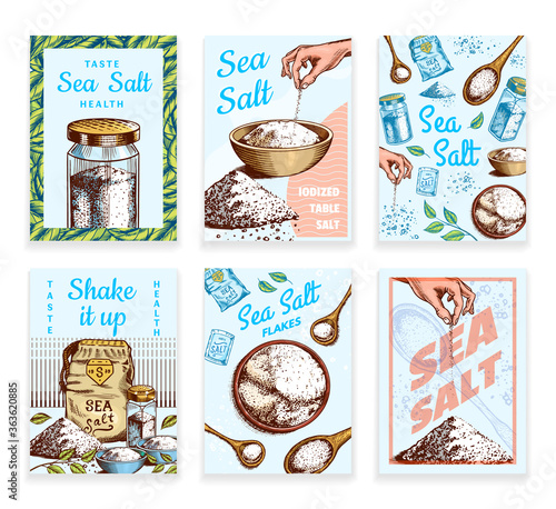 Cuadros en Lienzo Sea salt posters and banners