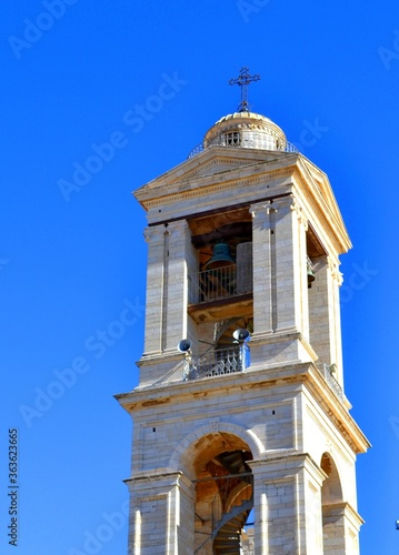 Photo bell tower of the church