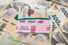 200 Hryvnia Banknotes Connecte...
