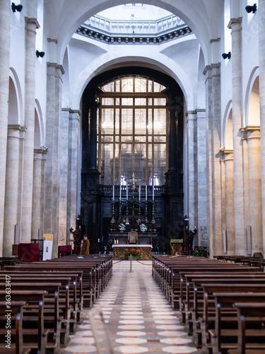 Inside Of Church Fototapeta