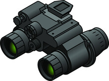 A Pair Of Night Vision Binoculars.