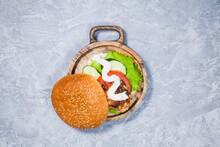 Craft Homemade Hamburger With ...