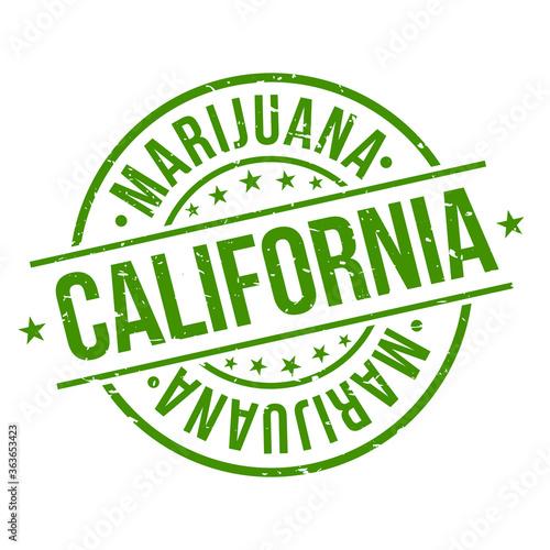 Fotografie, Obraz California Marijuana