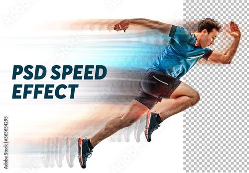 Fototapeta Speed Photo Effect obraz