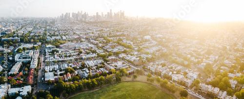 Cuadros en Lienzo Melbourne City