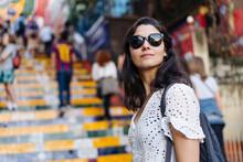 Woman In Rio De Janeiro, Brazil.