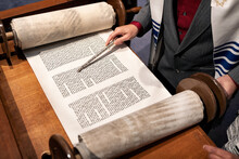 Synagogue: Man Using Pointer W...
