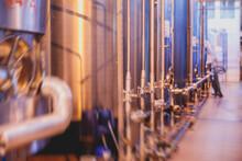 Interior Of Distillery Winery ...