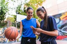 Two Female Basketball Player U...