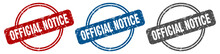 Official Notice Stamp. Officia...