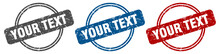 Your Text Stamp. Your Text Sig...