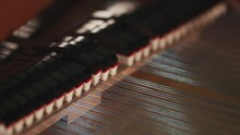 Piano Hammers In Slow Motion