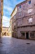 Old center of Sibenik,St James cathedral in Sibenik, UNESCO world heritage site in Croatia