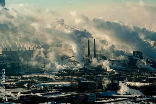 Industrial Ecology Landscape Fototapete