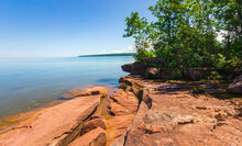 Beautiful Wisconsin Portion Of The Lake Superior Shorelines