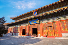Temple Of Confucius Is The Second Largest Confucian Temple In China, It's The Place Where People Paid Homage To Confucius During The Yuan, Ming And Qing Dynasty