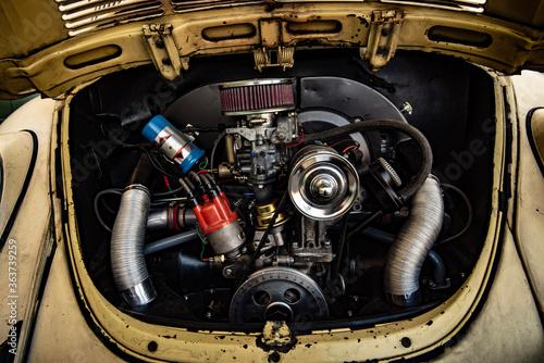 Vintage Beetle Engine Circa 1971 Fototapete