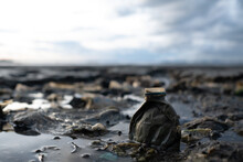 Garbage On The Beach, Dirty Sea