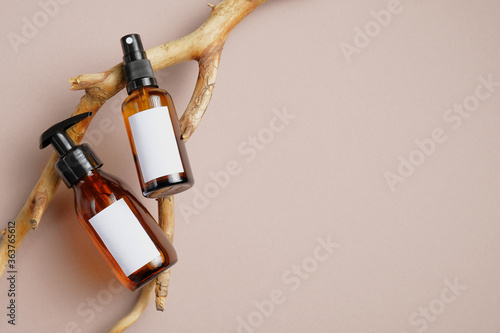 Fotografia Cosmetics SPA branding mockup