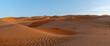 Leinwandbild Motiv Sand Dunes In Desert Against Sky