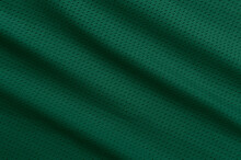 Green Football, Basketball, Volleyball, Hockey, Rugby, Lacrosse And Handball Jersey Clothing Fabric Texture Sports Wear Background