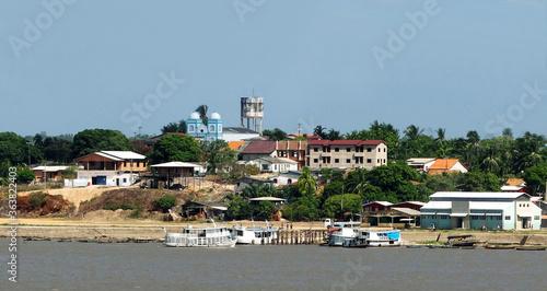 Fotografie, Tablou Santarem , Brasilien am Amazonas