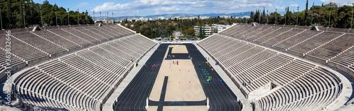 Photo Olympic Panathenaic stadium or kallimarmaro in Athens - panorama