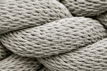 Macro Image Of Rope Detail
