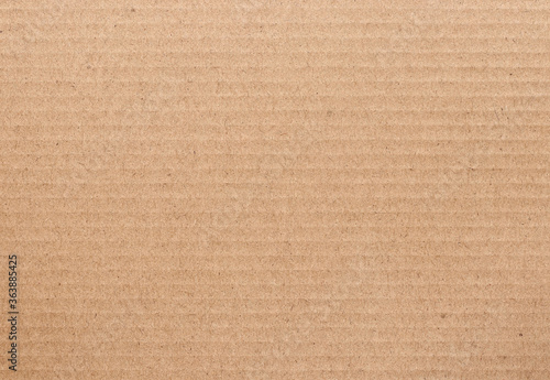 Brown cardboard sheet abstract background, texture of recycle paper box in old vintage pattern for design art work Fototapet