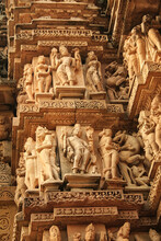 Close Up Of Artful Carved Wall...