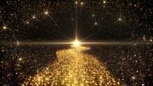 Space Stars Galaxy Milkyway Road Future Illumination 3D Illustration Background