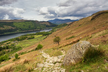 This Is Helvellyn A Mountain In Cumbria, This Is  The Easy Way, That Is If A Couple Of Hours Of Solid Ascent On Engineered Paths Can Be Described As Easy