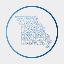 Missouri Icon. Network Map Of ...