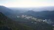 Aerial Shot of Grampians Pinnacle Victoria Australia