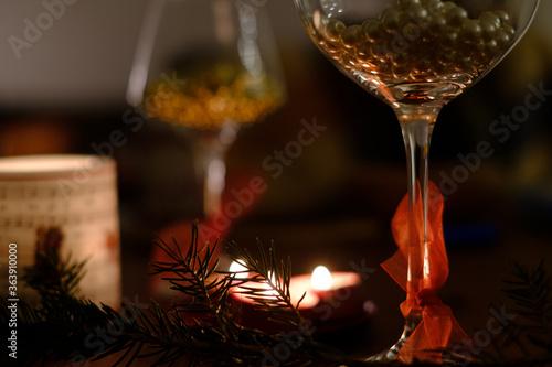 Fototapeta Close-up Of Festive Table Decoration obraz