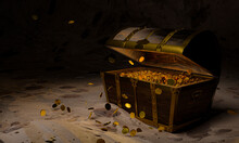 Golden Coins In The Ancient An...