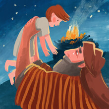 Bible Illustration About Abrah...
