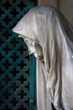Una Statua Del Cimitero Di San Michele A Venezia