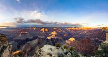 Panorama Of Grand Canyon At So...
