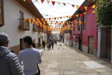 Alguna Calle De Bogotá
