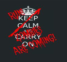 Halloween Keep Calm Carry On R...