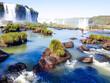 waterfall iguaçu national park parana brazil nature cascata, molhar, natureza, paisagem, fluvial, cascata, arborizar, córrego, verde, rocha, queda, cair, natural, fluindo, parque, viagem,