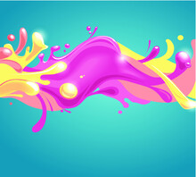 Abstract Colorful Seamless Bac...