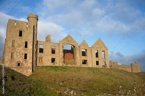 Photo New Slains Castle a 16th Century ruin near the fishing village of Cruden Bay Abe