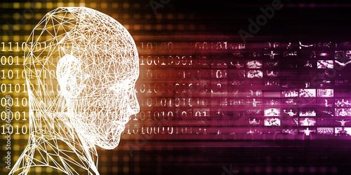 Fototapeta Intelligent Technology obraz