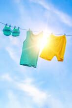 Sun Drying Homemade Children's...