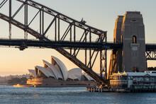 Sydney Harbour Bridge During S...